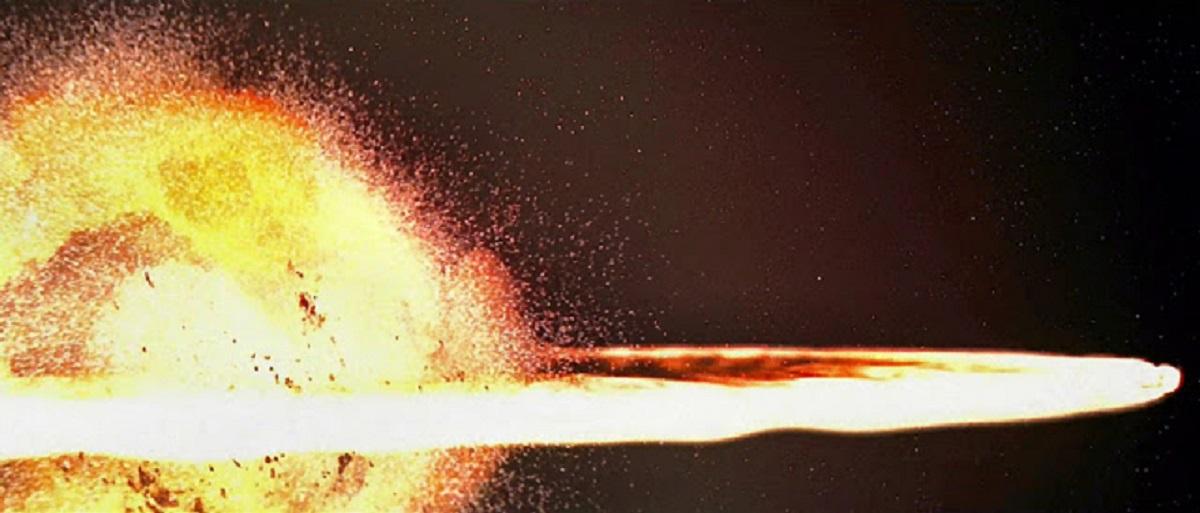 Alderaan explosion