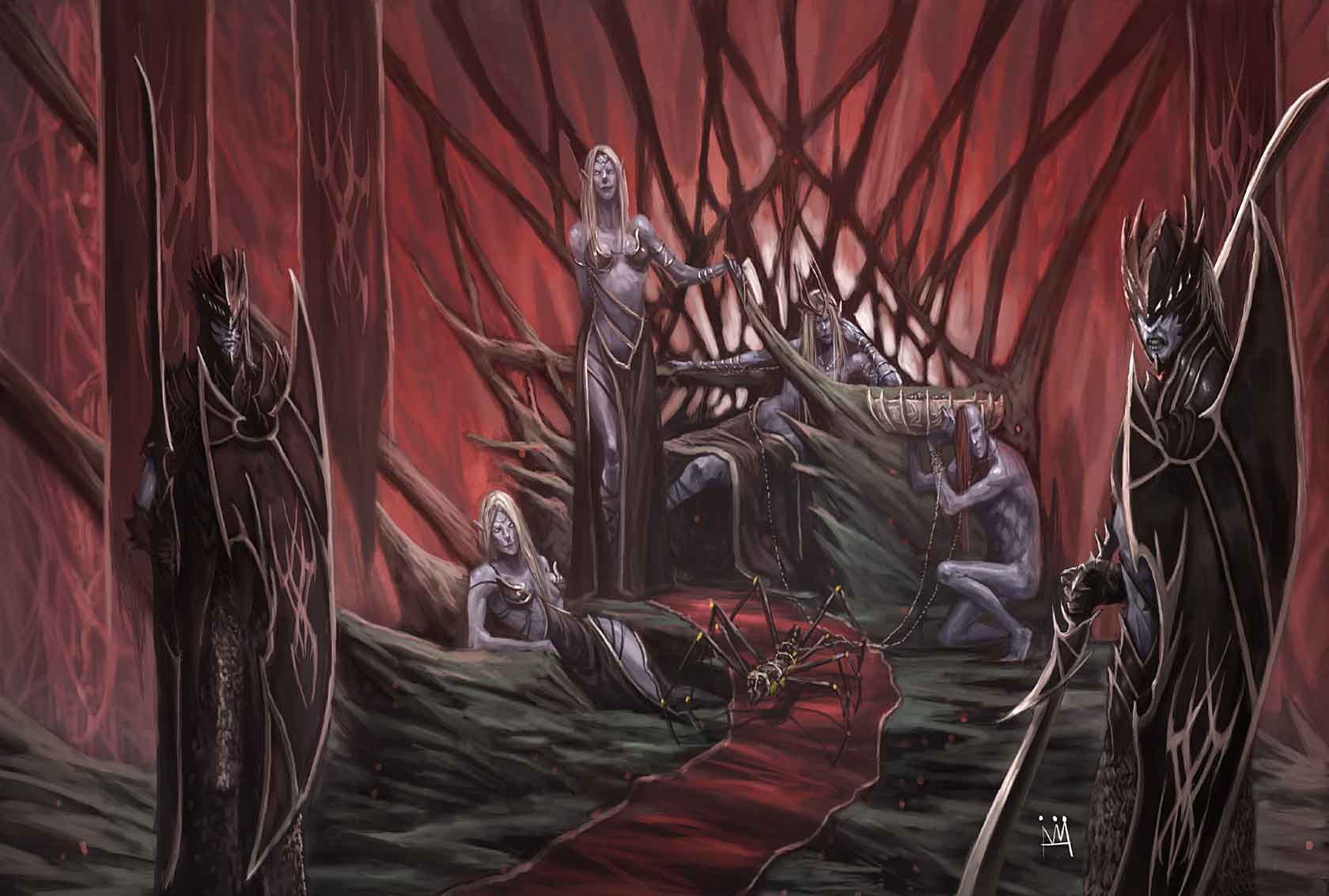 Drow Dawn Of Darkness Obsidian Portal