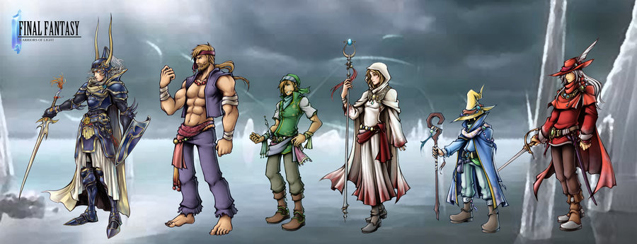 Final fantasy i  warriors of light by isaiahjordan d5iwsms