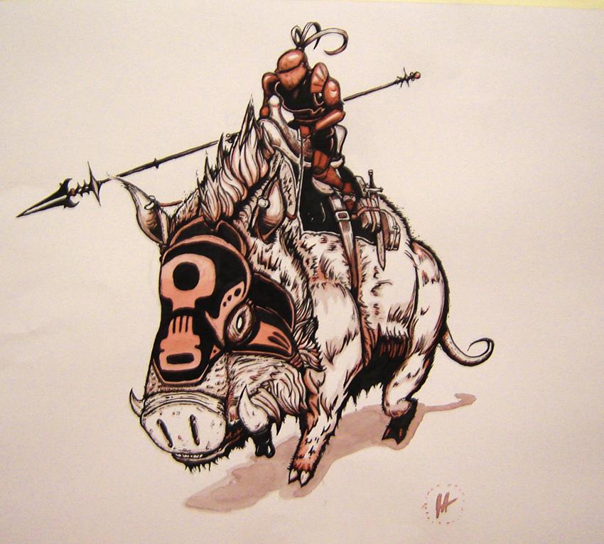 War pig by mechanical pumpkin