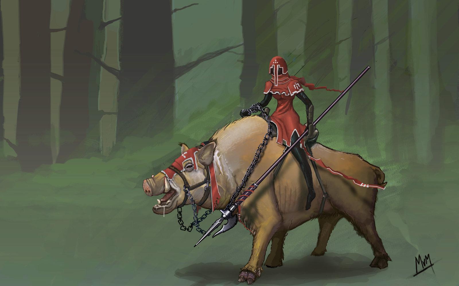 Boar rider by imperatordk d61obbu
