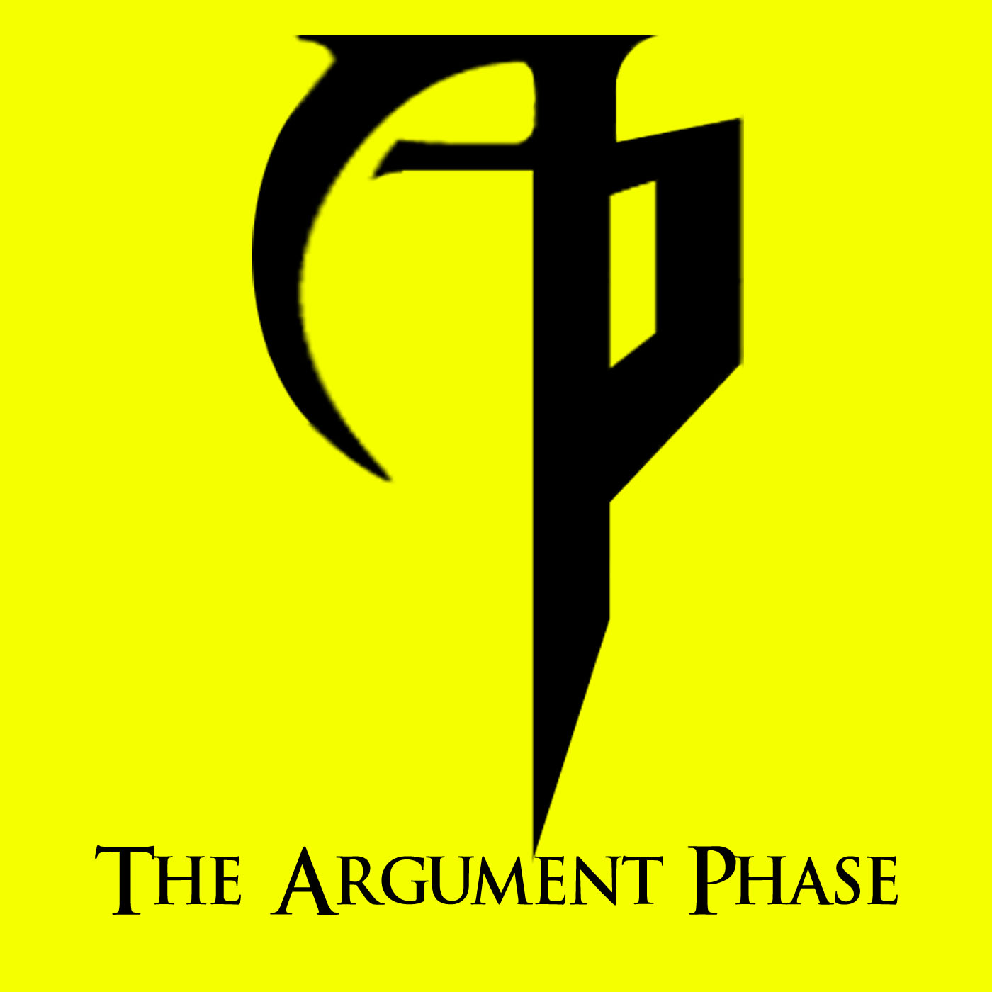 The argument phase logo