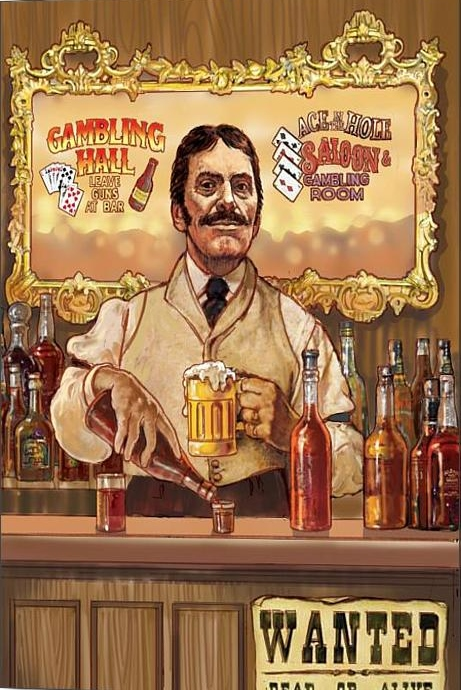 Saloon keeper valerian ruppert