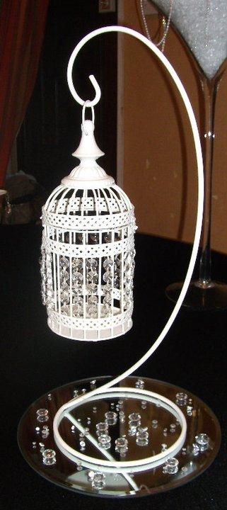 Crystal birdcage