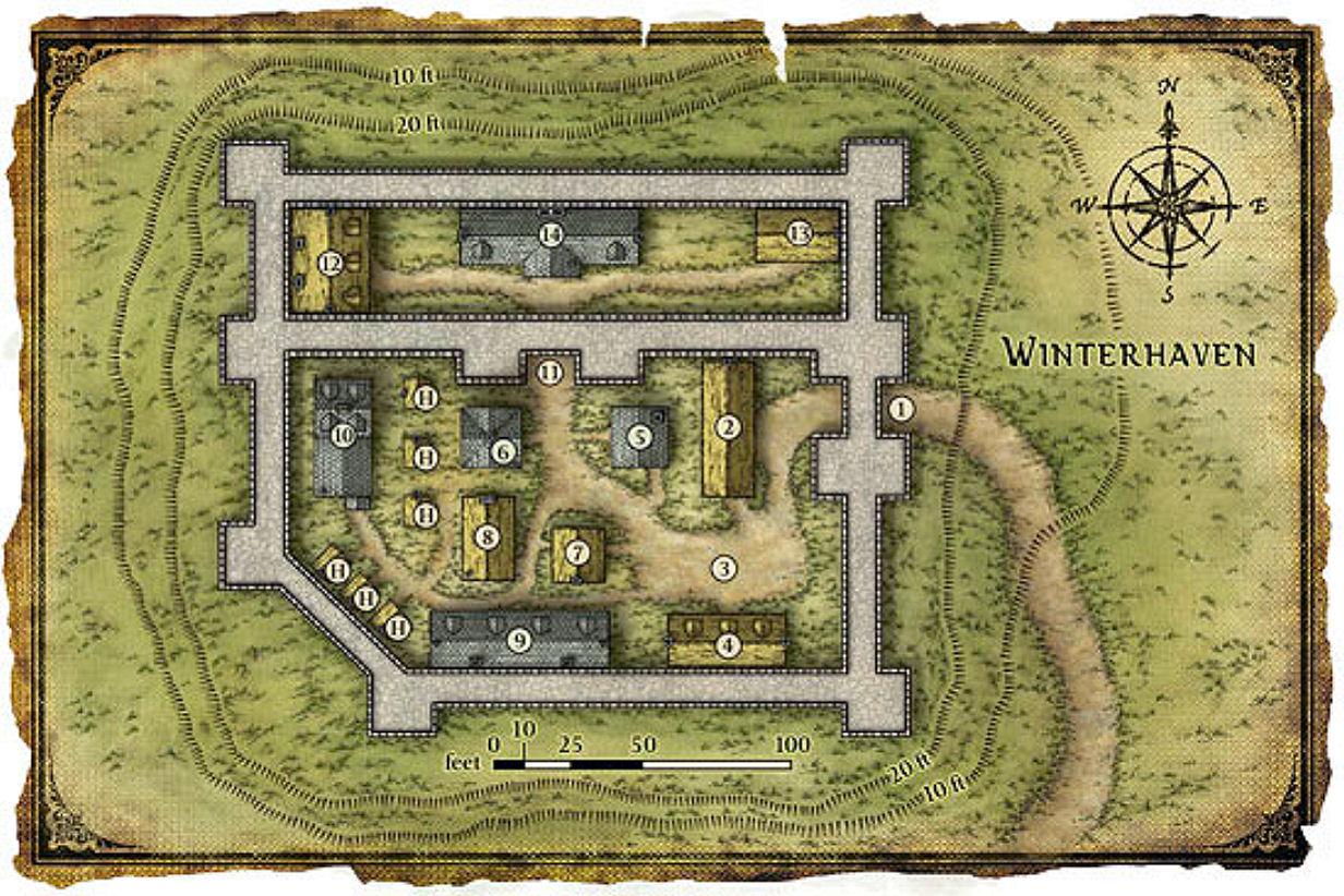 Winterhaven map base