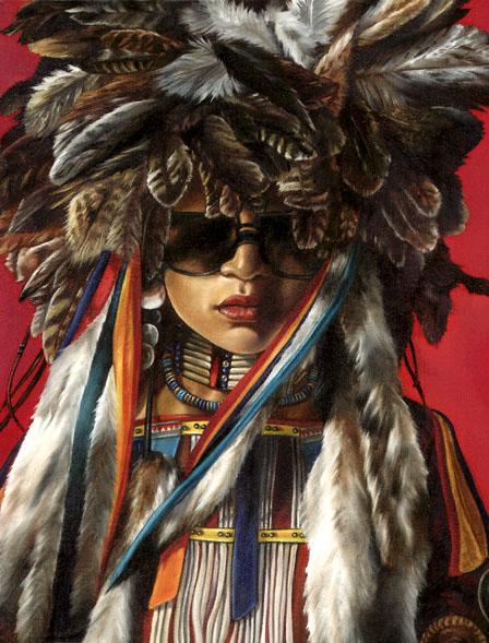 A Sioux shaman.