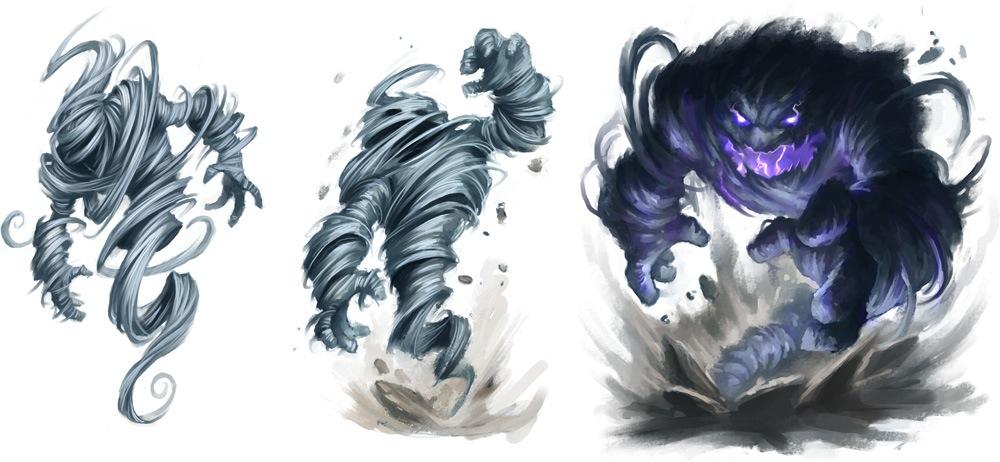 Air elementals