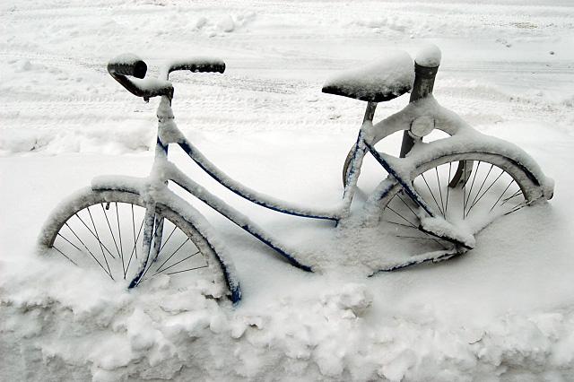 Banked bike