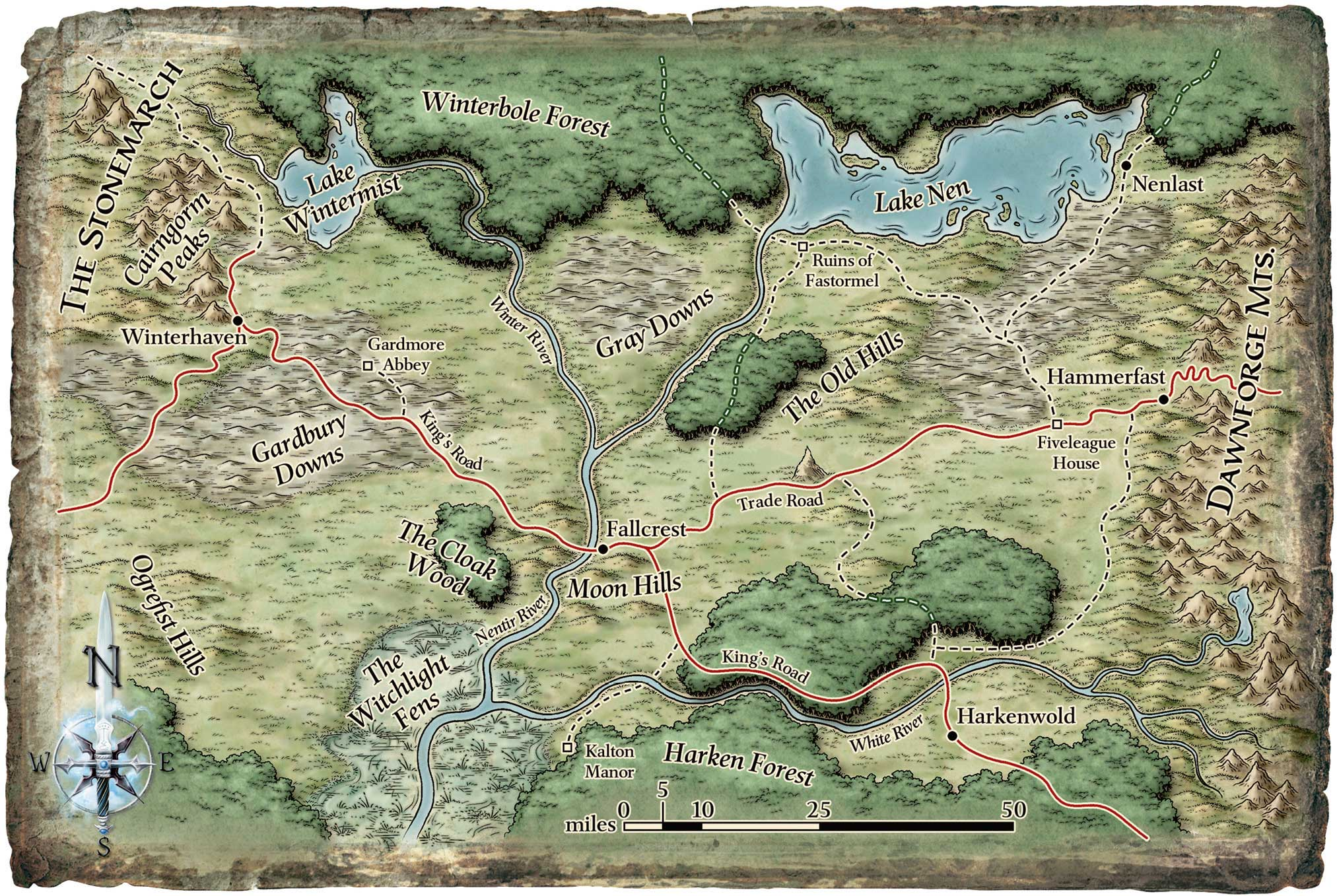 Nentir vale player map