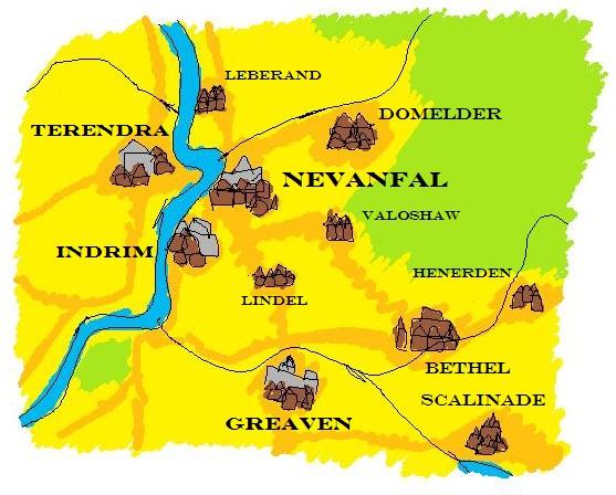 Valoshaw area map