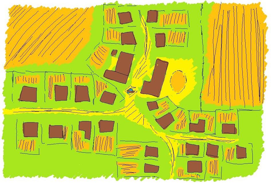 Valoshaw town map
