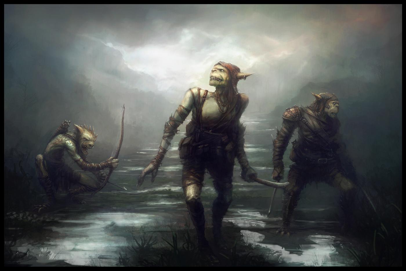 1400x933 2558 goblin rogues 2d fantasy goblins picture image digital art