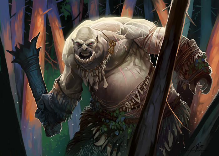 Forest ogre by guzboroda d4mj5xj
