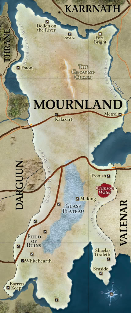 Mournland map