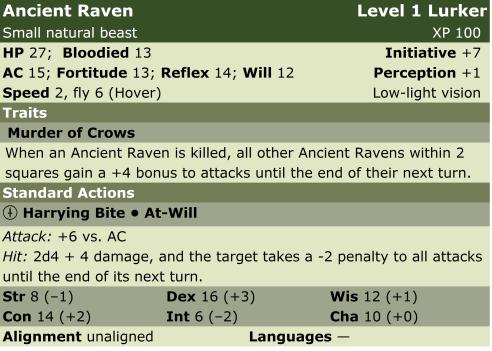 Raven ancient  l1  lp