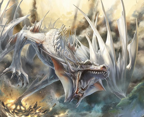 White dragon attack