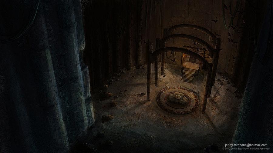 Hidden temple  by bunny jen