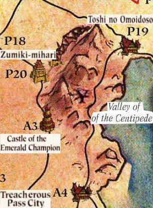 Centipede map1
