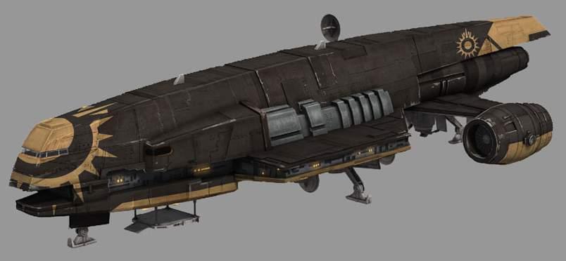 Gozanti class cruiser 4