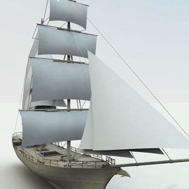 Strange ship web