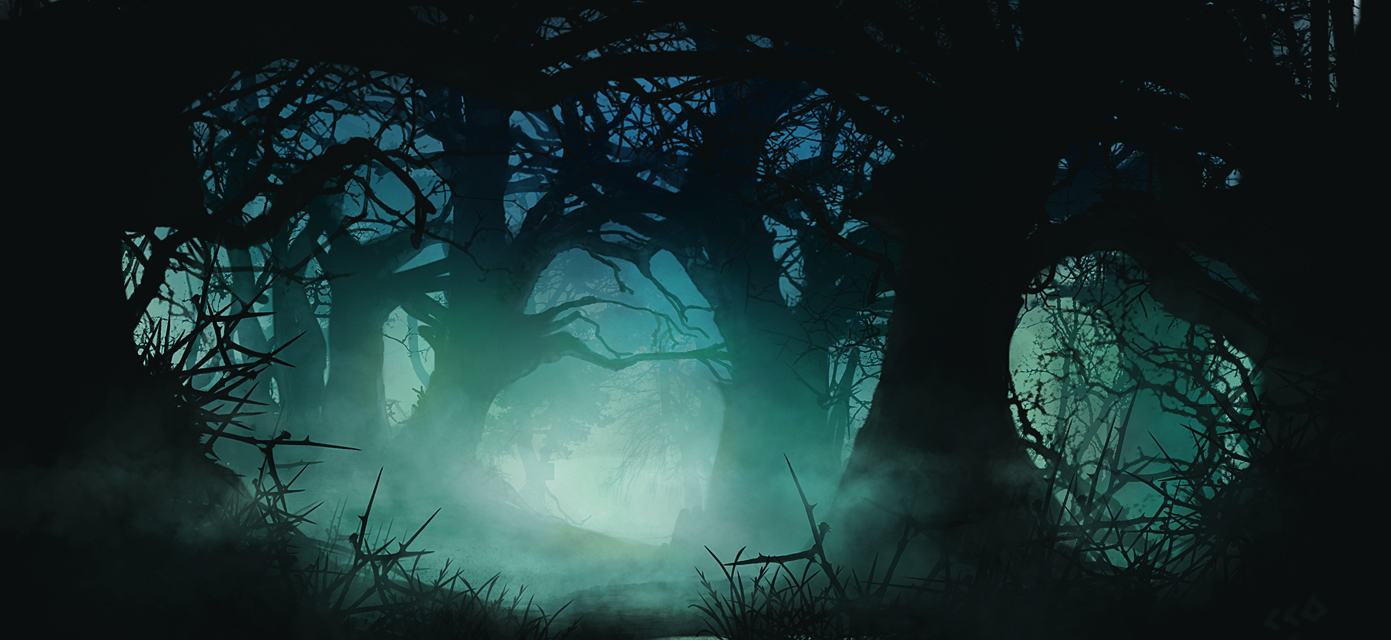 Creepy forest by fis hg ri nd