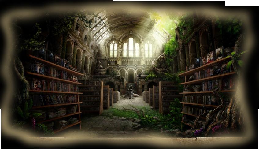 Biblioteca de la bruma