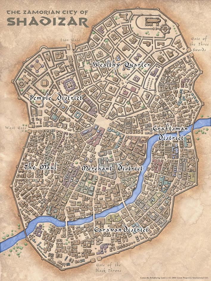 Shadizar map