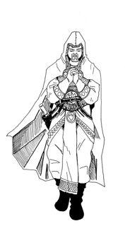 Pathfinder cleric by jonir d4o37ch