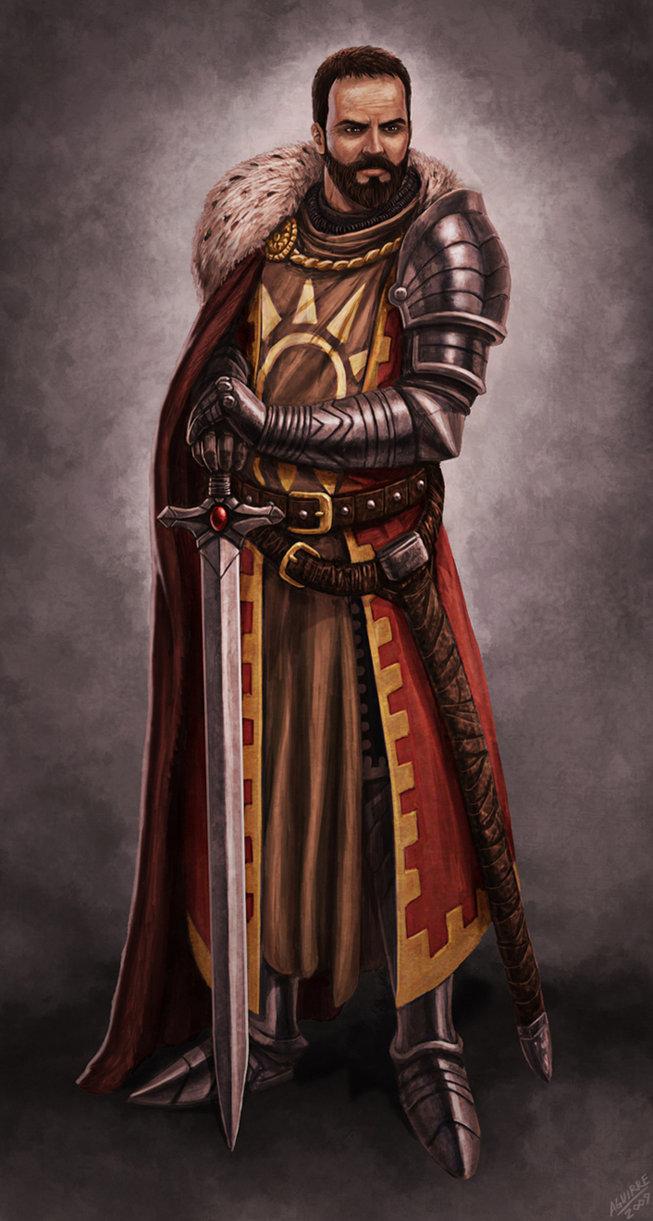 Arthur   the warrior king by tiobolasdoro