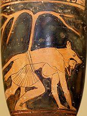 Lekythos dolon louvre ca1802