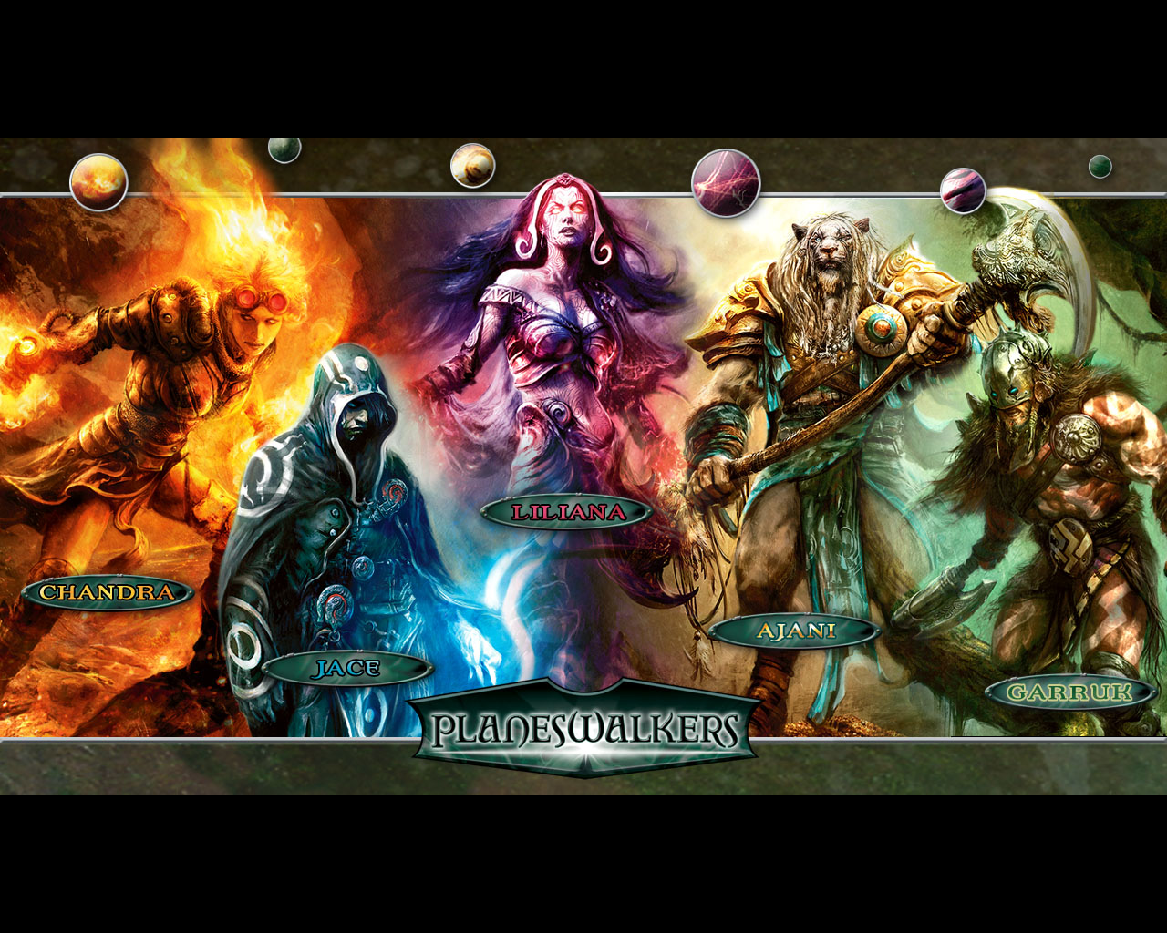 Wallpaper planeswalkers 1280x1024