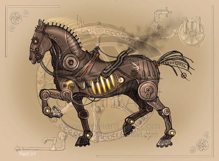 Mechanical steed med