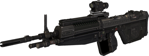 M 17 designated marksman rifle