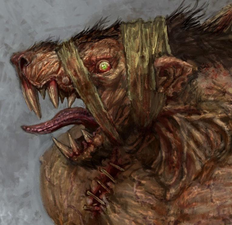 Rat zombie