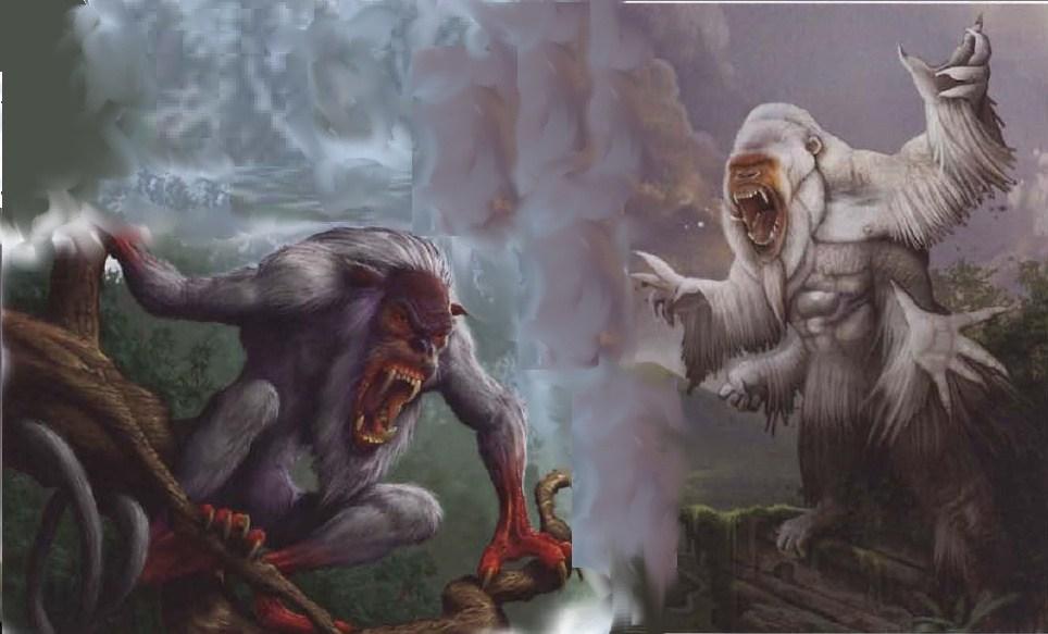 White apes of su