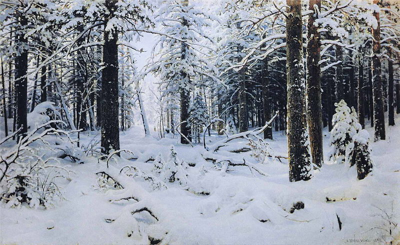 Wiki.ivan shishkin.winter
