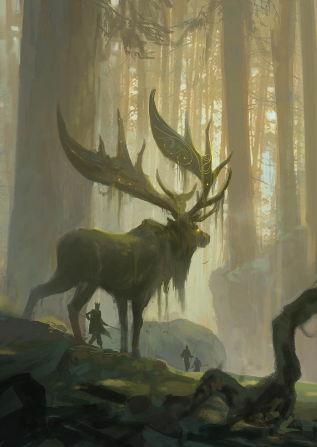 Dark stag