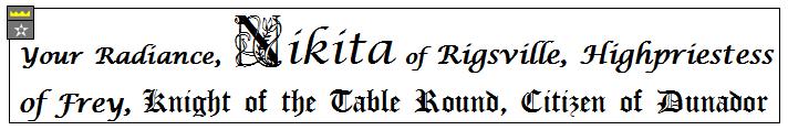 Nikita banner
