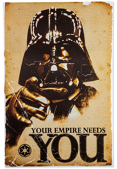 1195 star wars empire needs poster