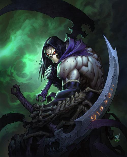 Darksiders ii death art