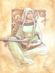 Azuredee silverthistle