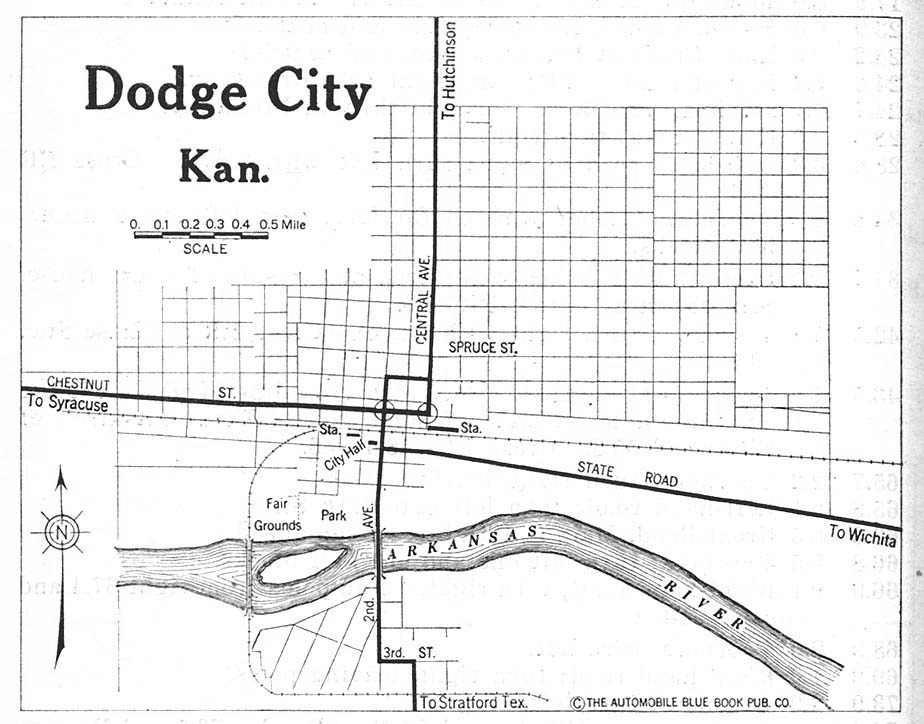 Dodge city ks 1920