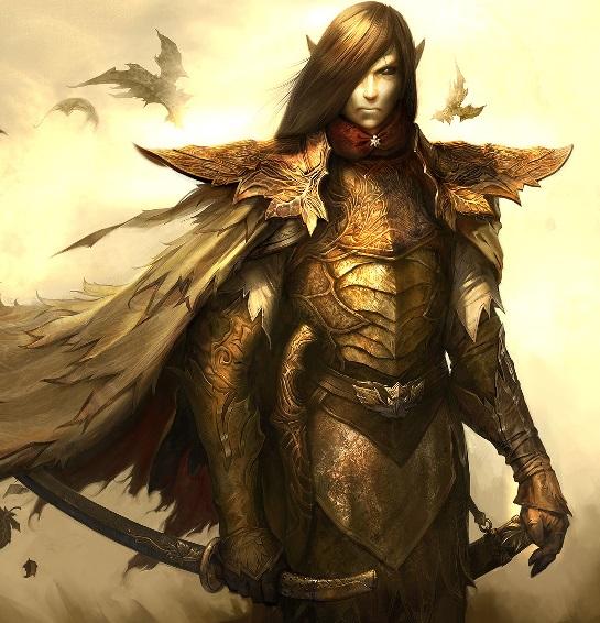 Elven warrior little