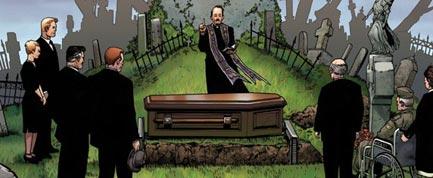 Marvel funeral ff