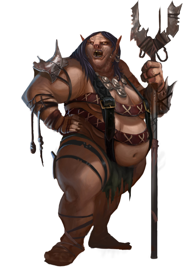 Female orc avatar1