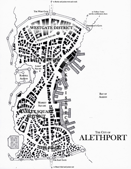 Alethport map small