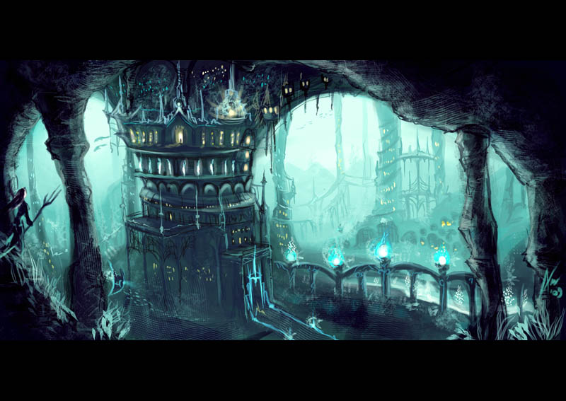 Underwater city by anez erynlis