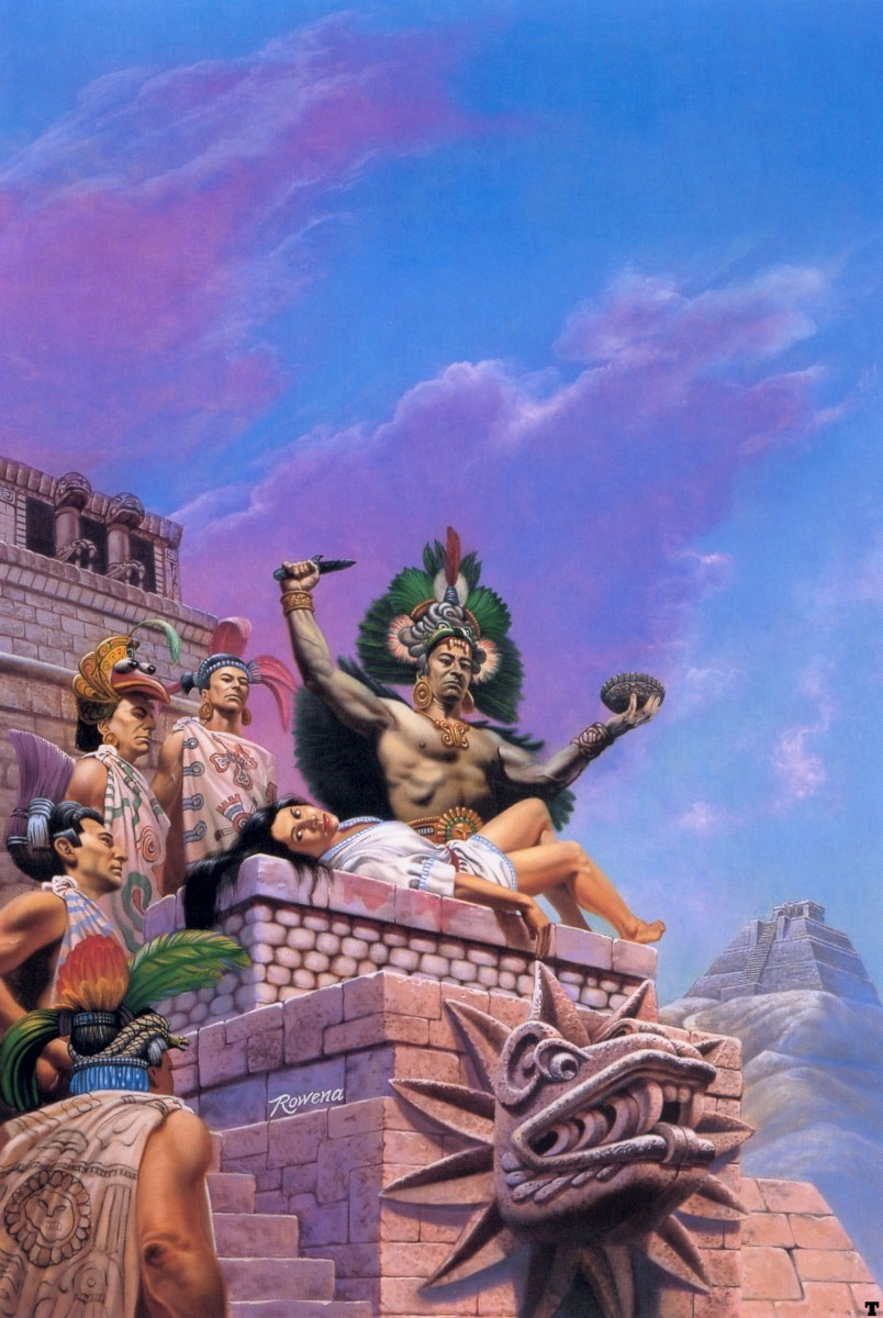 Aztec sacrifice girl adult clips