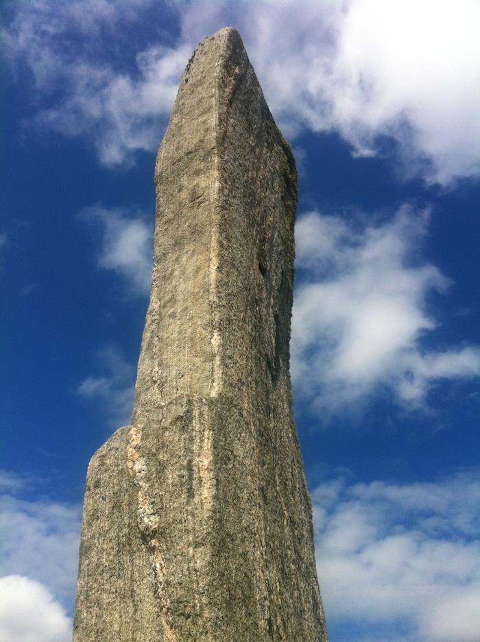 Callanish standing stones monolith