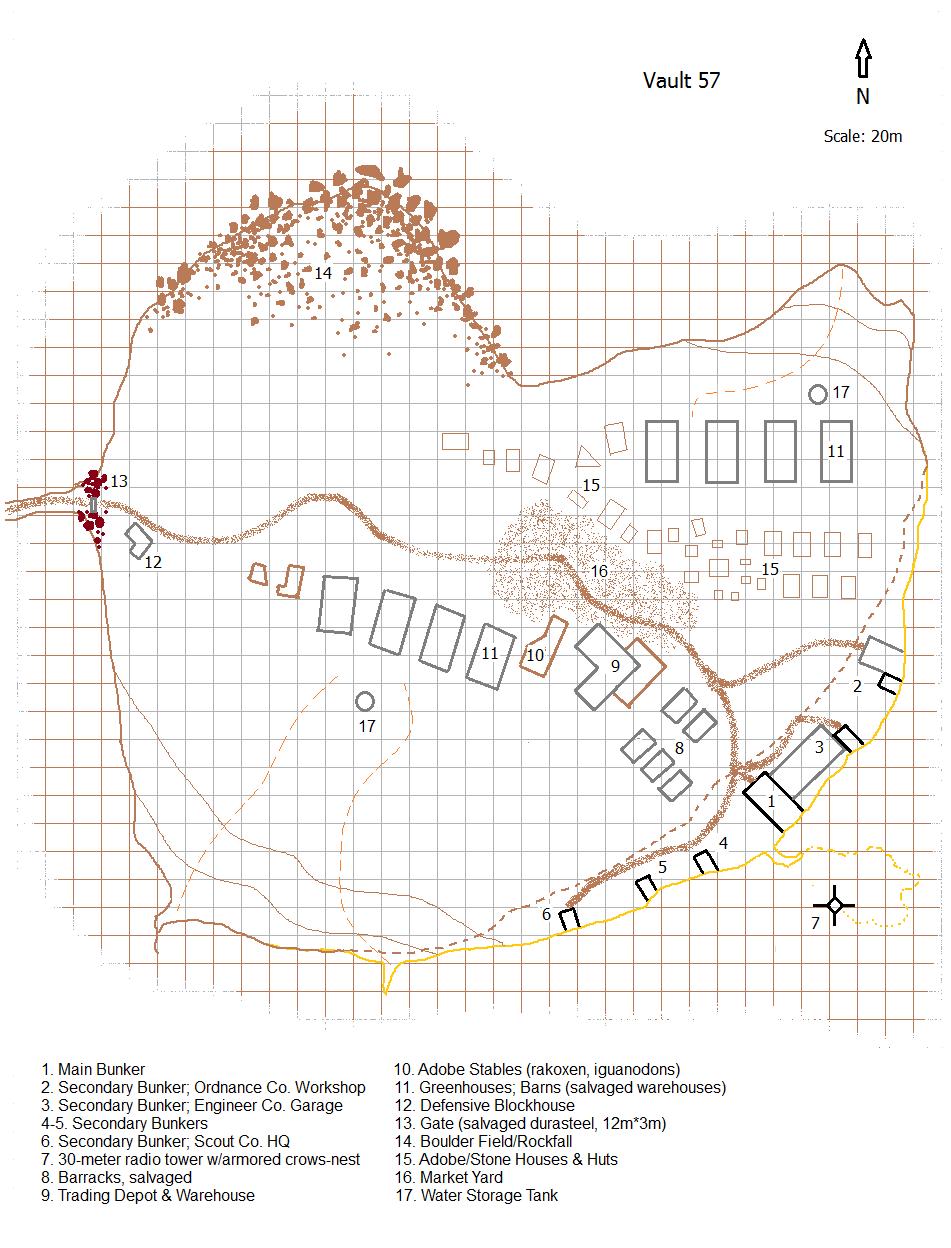 Gw vault57 outdoor map